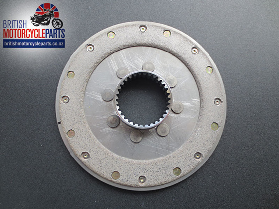 57-3709 Clutch Driven Plate Assembly A75 T150 T160 - British Motorcycle Parts NZ
