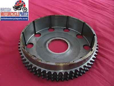 57-4640 Clutch Basket Chainwheel Triplex - Triumph 750cc
