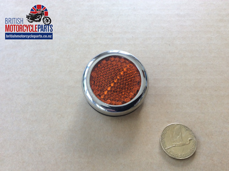57161 Amber Reflector Assembly - 60-0691