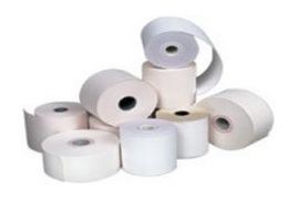 57mm(width) x 50mm THERMAL PAPER ROLLS  minimum 10 Rolls