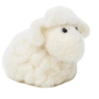 5cmh Xmas Wool Decoration-Sheep