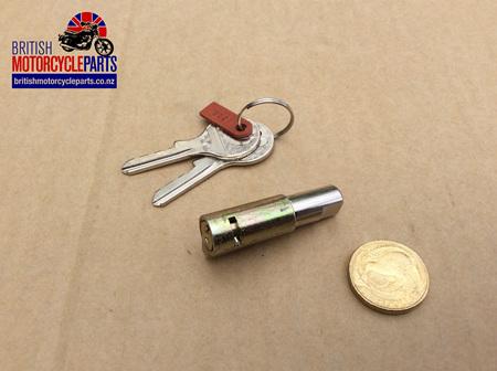 60-0402 Steering Lock & Keys - Triumph to 1967