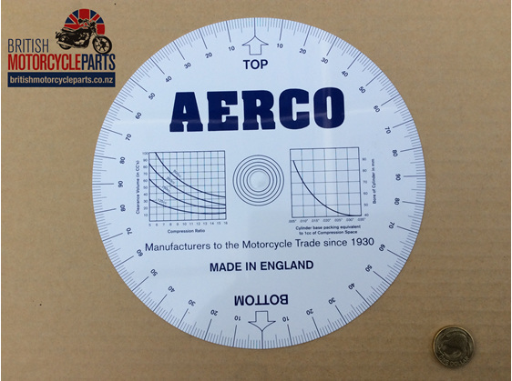 60-0605 Engine Timing / Valve Timing Disc - British Motorcycle Parts Ltd - NZ