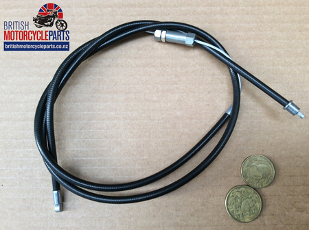 60-0683/US Throttle Cable T120 T/Grip to J/Box US Bars 1968-74