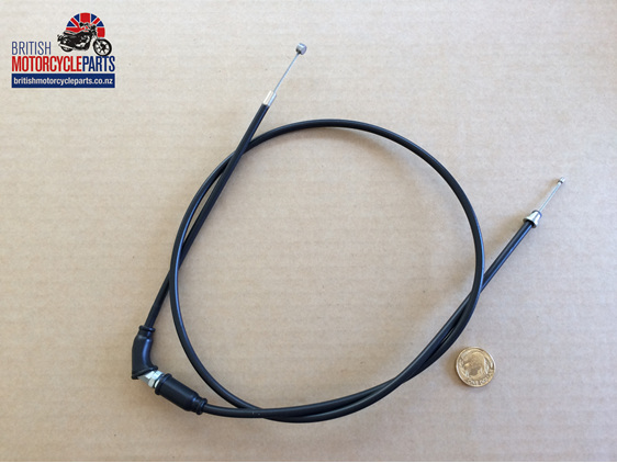 60-1819 Throttle Cable T120 Twin Pull - US Bars - British Motorcycle Parts NZ