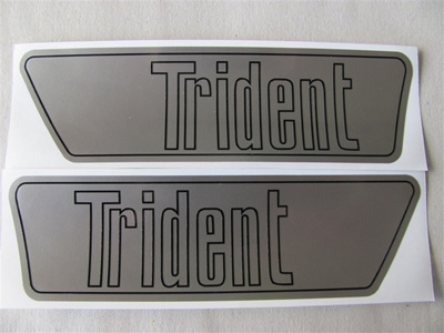 60-1905/6 Trident Side Cover Decals - Pair