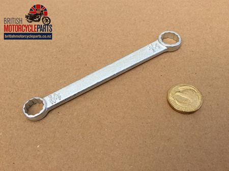 """60-1907 Ring Spanner Cylinder Base Nuts 7/16"""" x 1/2"""" AF"""