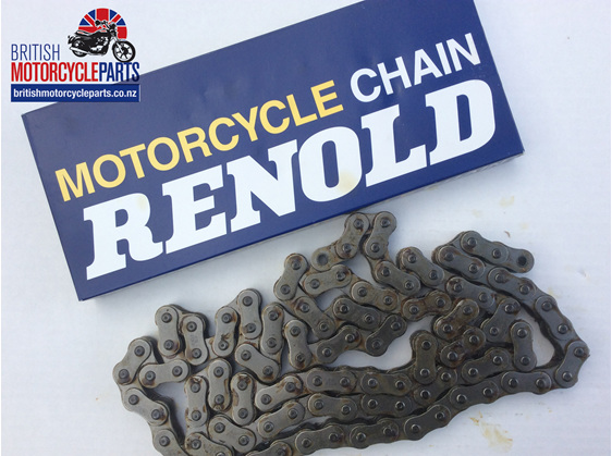 "60-2016 Renold Rear Chain - 5/8"" x 3/8"" 108 Links - British Motorcycle Parts NZ"