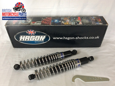 60-2024 Triumph TR6R T120R Shock Absorbers - 330mm - HAGON