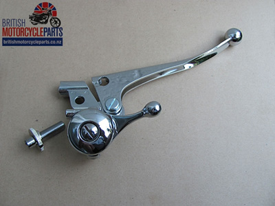 60-2073A Brake & Choke Lever Assembly - Triumph