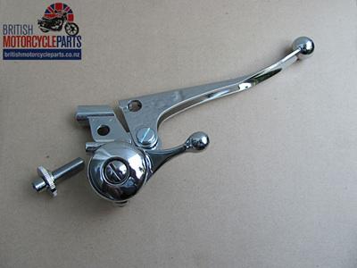60-2073A Brake & Choke Lever Assembly - Triumph