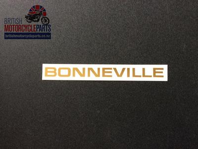 60-2103 Bonneville Sidecover Decal - Triumph 1969-71