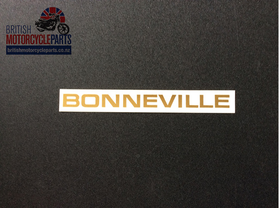 60 2103 Bonneville Sidecover Decal Triumph 1969 71