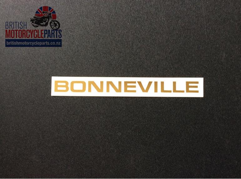 60-2103 Bonneville Sidecover Decal - Triumph 1969-71 - British Parts Auckland NZ