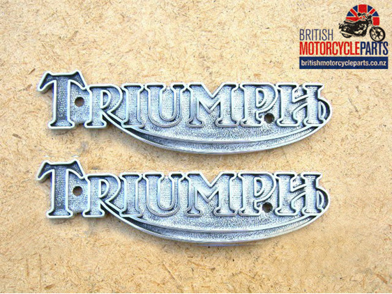 60-2569 Tank Badges - 4 Gallon UK Tank - Pair