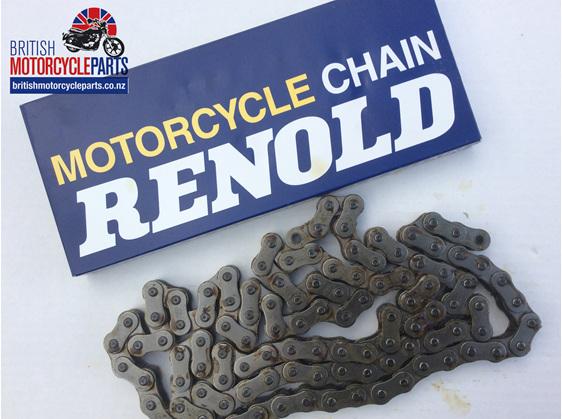 "60-3297 Renold 530 Rear Chain 5/8"" x 3/8"" 110 Links - BSA Norton Triumph - NZ"
