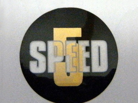 60-3748 5 Speed Sticker