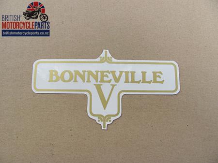 60-3950 Bonneville V Decal - Triumph