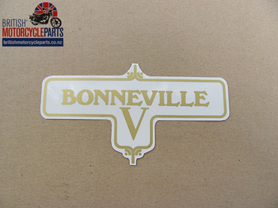 60-3950 Bonneville V Decal - Triumph