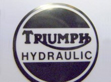 60-4156 Triumph Hydraulic Caliper Cover Decal