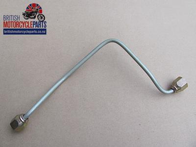60-4179 Brake Pipe - Top to Bottom Yoke - T140V