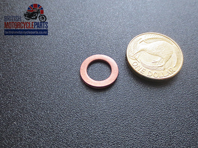 """60-4182 Copper Washer 7/16"""" - Master Cylinder"""