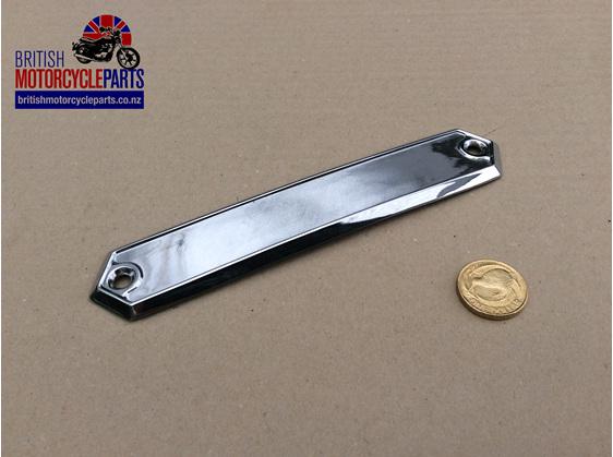 60-4336 Chrome Badge Holder LH - T160