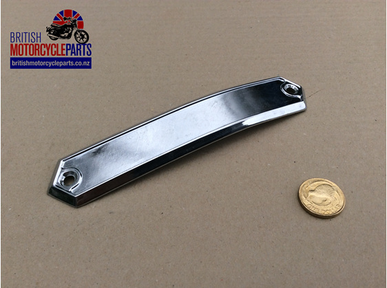 60-4427 Chrome Badge Holder - RH - Triumph T160