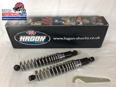 60-6000 Triumph 6T TR6 T120 T140 Shock Absorbers - 320mm - HAGON