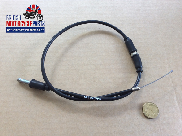 60-7150 T140E Throttle Cable T/Grip to J/Box - UK Bars British MC Parts NZ