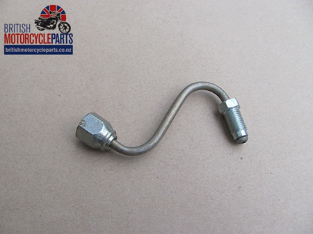 60-7177 Brake Pipe - Top Yoke to T Piece - T140E