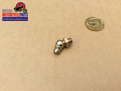 "60-7336 Grease Nipple 1/4"" BSF 45 Degree"