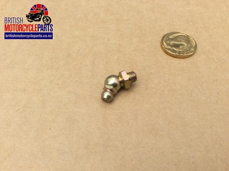"60-7336 Grease Nipple - 45 Degree - 1/4"" BSF"