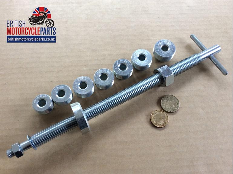 61-3350 61-3824 Fork Tube Puller Kit - BSA Norton Triumph - British MC Parts NZ