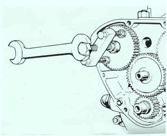 61-6132  Cam Wheel Extractor Tool - Triumph 1972 on - British Parts Auckland NZ