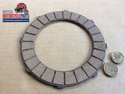 65-3857 Clutch Friction Plate - BSA 6 Spring