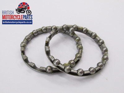 65-3910 Clutch Ball Race Retaining Ring Set - BSA