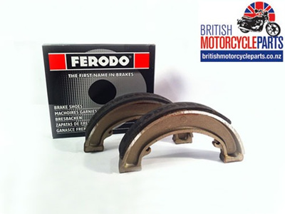 "65-5901 65-5940 BSA 7"" Brake Shoes - Ferodo"