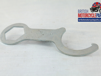65-9243 Fork Top Nut Gland Spanner - BSA