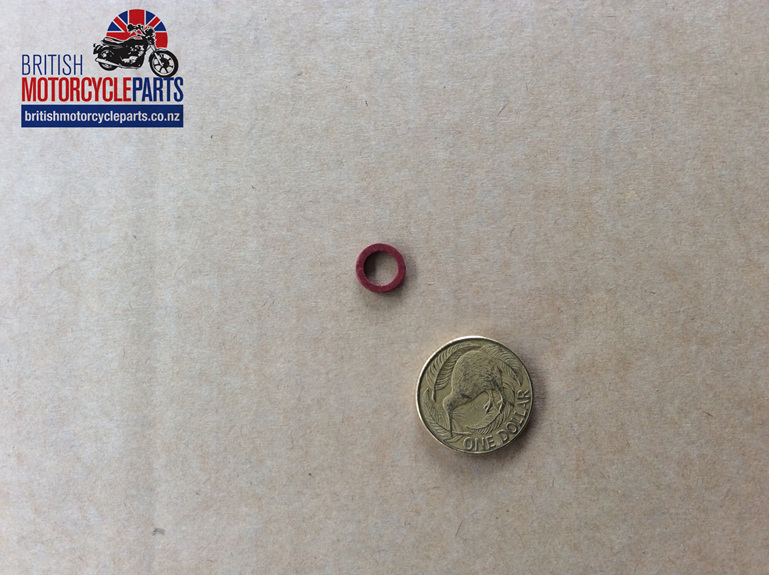 66-7518 Fibre Washer 1/4 Inch - BSA - British Motorcycle Parts Ltd - Auckland NZ