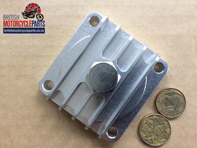 67-1285A Billet Sump Plate - BSA A7 A10 A50 A65
