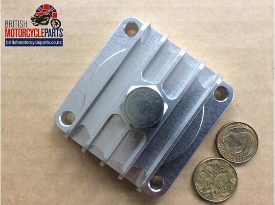 67-1285A Billet Sump Plate - BSA A7 A10 A50 A65- British motorcycle Parts - NZ