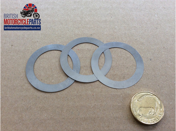 68-0187 Crankshaft Shim Set A50/65 - 68-0188 68-0189 - British MC Parts NZ
