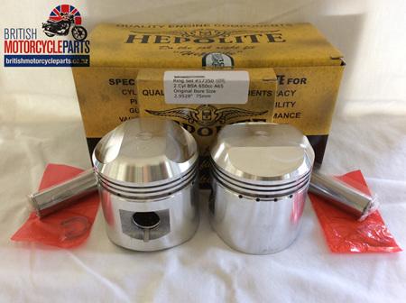 68-0910 BSA A65 Pistons & Ring Sets .040 - 19233/40