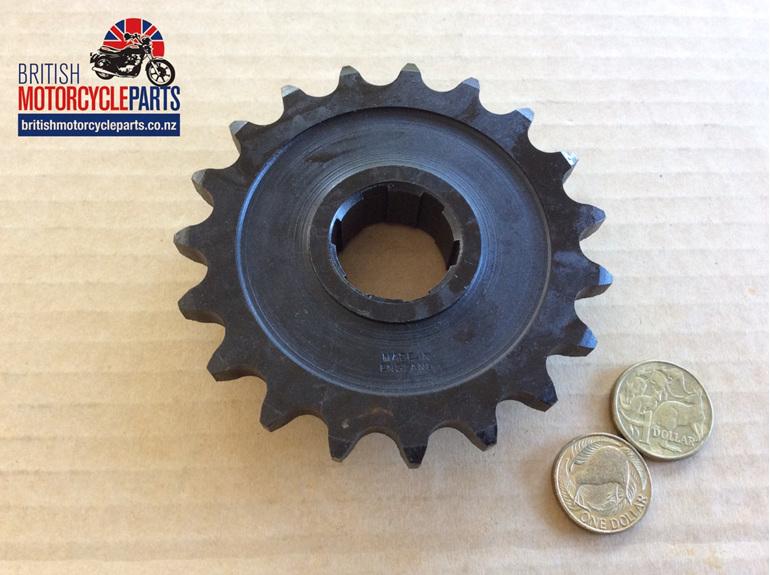 68-3073 Gearbox Sprocket 20 Tooth - BSA A65 - British Motorcycle Parts NZ