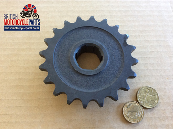 68-3078 Gearbox Sprocket 19 Tooth - BSA A65 - British Motorcycle Parts NZ