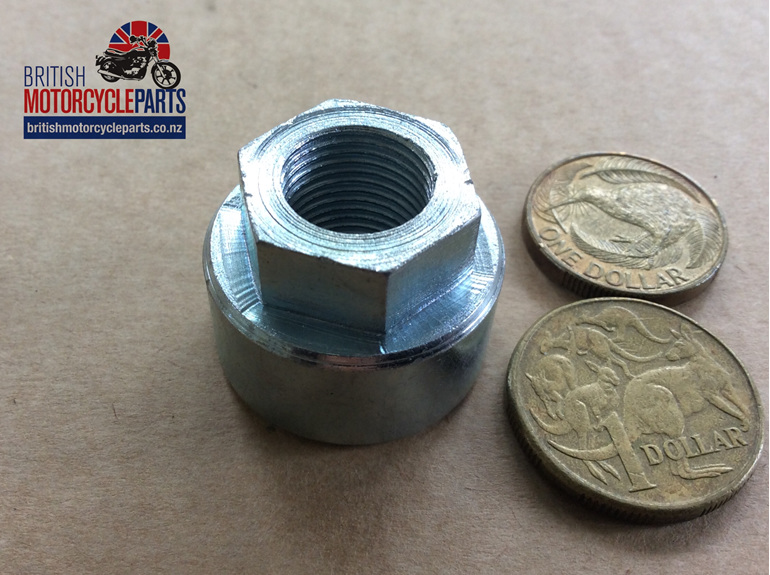 68-6100 Rear Axle Spindle Nut - 68-6066 37-2309 - British Motorcycle Parts - NZ