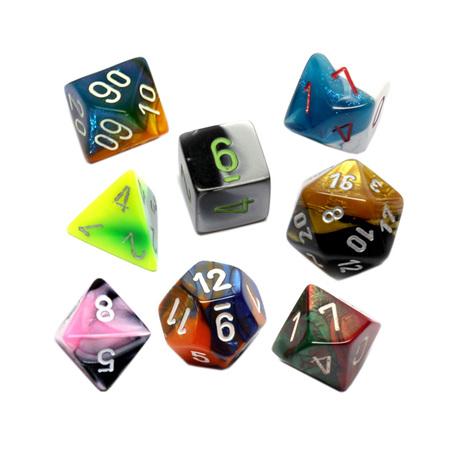 7 Chessex Gemini Polyhedral Dice