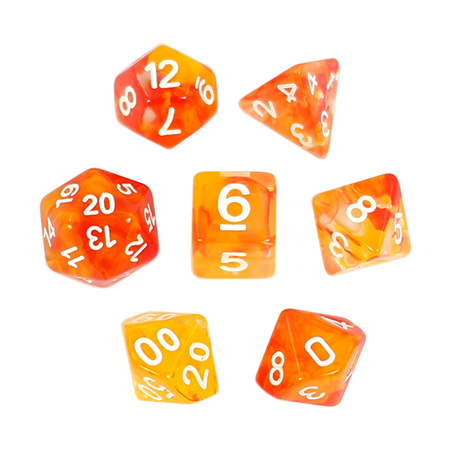 7 'Fire' with White Vapour Dice