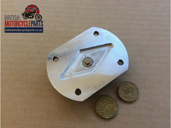 70-0486 - Sump Plate Pre Unit Billet - Triumph - British Parts - Auckland NZ